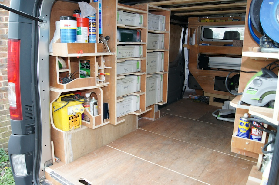 Cool van racking plans p50 on perfect home design planning for My contractor plan
