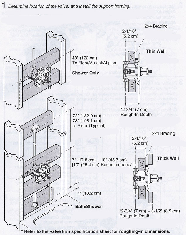 How To Install Delta Rough In Shower Valve - Image Bathroom 2017