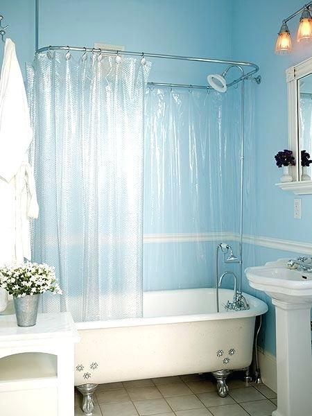 Lovely Clawfoot Tub Shower Curtain Solutions P85 In Perfect Home Decor Ideas with Clawfoot Tub Shower Curtain Solutions
