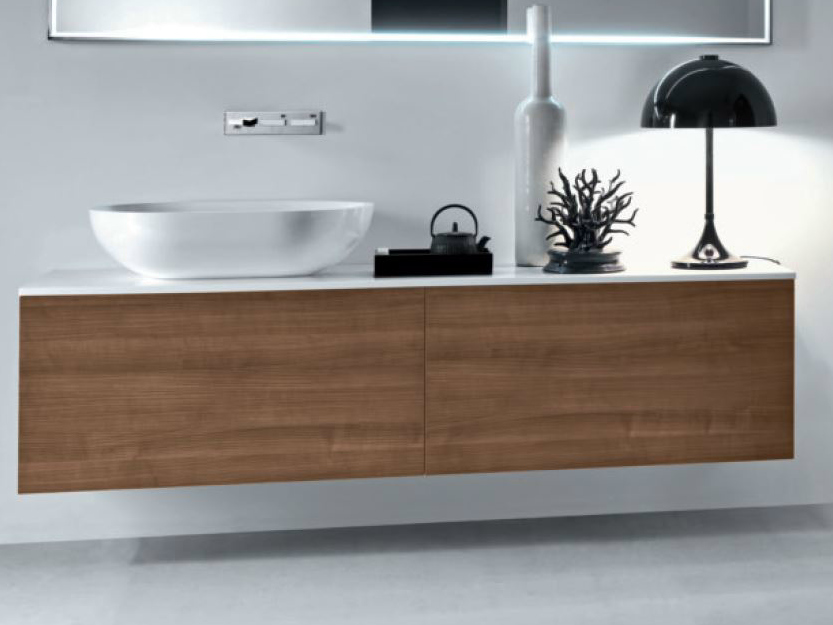 Wooden Vanity Unit | Furniture Ideas for Home Interior | {Waschtischunterschrank modern 82}