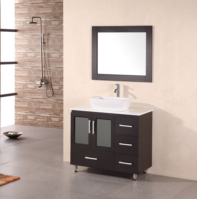 Modern Bathroom Vanities With Vessel Sinks P82 On Fabulous Home Decoration  For Interior Design Styles With