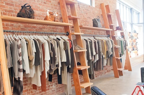 Nifty Boutique Clothing Racks P68 In Stunning Home Interior Ideas with Boutique Clothing Racks